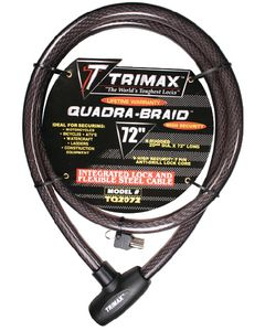 Trimax Integrated Cable Lock