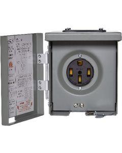 Pwr Outlet 120V/240V 50A - Outdoor Power Outlet