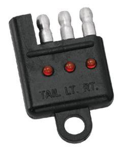 Wesbar 4-Flat Tester W/Led Indicator
