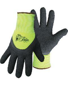 Boss Arctik Blast™ High-Vis Green Textured Latex Gloves, Large, pr.