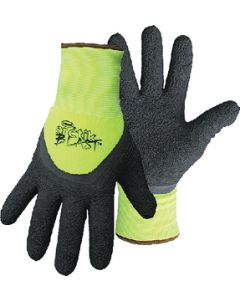 Boss Arctik Blast™ High-Vis Green Textured Latex Gloves, X-Large, pr.
