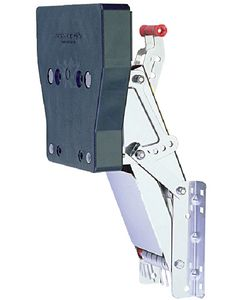 Garelick Stainless Steel Auxiliary Outboard Motor Brackets For 118 lbs 2-Stroke Motors