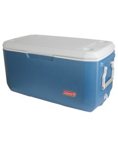 Coleman 120 Quart Xtreme Blue/White Cooler
