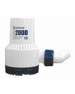 Manual Bilge Pump Hd 2000 GPH 24v -Attwood