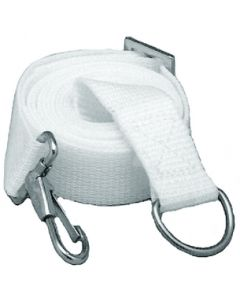 Taylor Made Adjustable Tie-Down Strap, 6', White, Pair