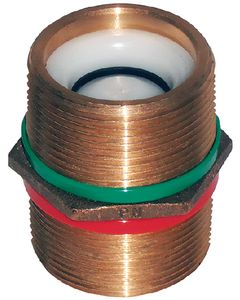 Groco Bronze Pipe Nipple With Check Valve PNC-500