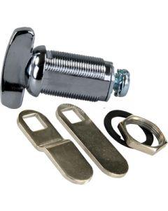 JR Products 1-3/8In Thumb Comp Lock - Compartment Door Thumb Lock