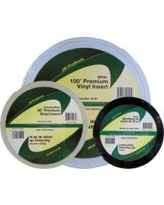 JR Products 50' Premium Vinyl White - Vinyl Insert - Premium