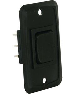 JR Products H.D.12V Mom-On/Off/Mom-On - Heavy Duty On/Off/Momentary-On Switch