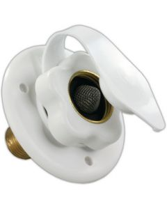 JR Products City Water Hatch Polar White - City Water Flange
