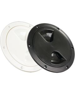Jr Products 4IN ACCES/DECK PLATE WHITE