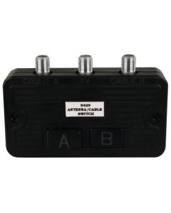 JR Products Cable Tv A/B Switch Box - Cable Tv A/B Switch Box