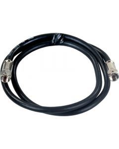 JR Products 3' Rg6 Coax W/Compression Ends - Rg6 Exterior Hd/Satellite Cable