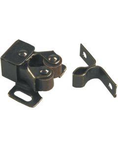 JR Products Rbl Roller Cab. Cat. W/Prong - Double Roller Catch W/Prong