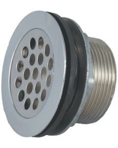 JR Products Shwr St W/Grd Ln Sn R.P.W - Shower Strainer With Grid