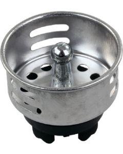 JR Products Plstc Strainer Basket W/ Prong - Push-In Basket