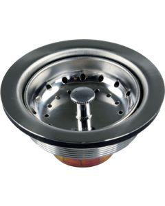 JR Products Lg Kitch Strainer Stless Steel - Large Kitchen Strainer