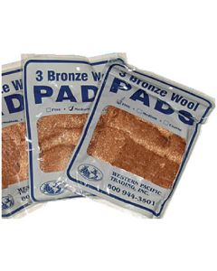 Western Pacific Bronze Wool Med 3/Pd