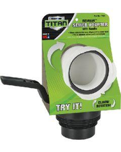 Revolve Universal Sewer Adaptr - Titan&Trade; Premium Rv Accessories