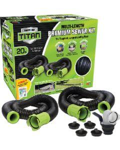Sewer Kit Titan 20Ft - Titan&Trade; Premium Rv Sewer Kit System