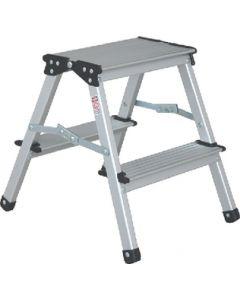 Stromberg Carlson Aluminum 2 Step Stool - Aluminum Step Stool