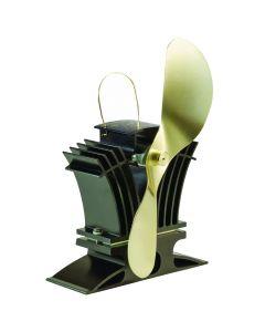 Caframo Ecofan BelAir 806CA Heat Powered Stove Fan - Gold Blade