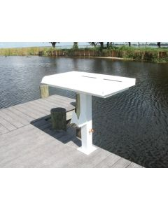 Rough Water Products Fish Cleaning, Fillet, Pedestal Table