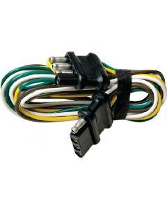 4 Pole 12 /& 24 Volt SEACHOICE Trailer Connector 6