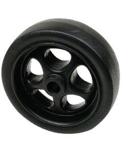 """Seachoice 6"""" (15.24cm) Black Wheel"""
