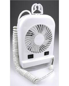 Fan/Light Combo - Portable Reading Light With Fan