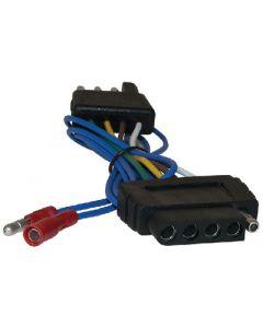 FulTyme RV 4-Flat To 5-Flat Trailer Wiring Adapter