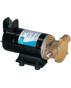 """Jabsco Bilge Pump, Reversible Sliding Vane, 1/2"""", 12V DC, 6 Gallons per Minute"""