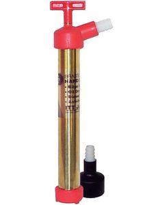 "Jabsco Handy Boy Hand Water Pump (manual): 40"" Hose Length, 40"" Pump length, 1/4"" Hose Dia."