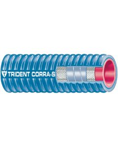 Trident 2 Blu Corrg Sil Exh Hose