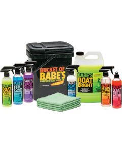Babes Bucket of Babe's Complete Boat Care Package