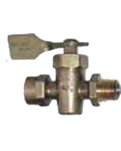 Racor U.L. Listed Brass Shut-Off Ma Turbine Retrofit Drain Valve