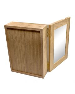 Whitecap Teak Medicine Chest w/Mirror