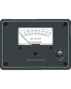 Blue Sea Systems DC Analog Voltmeter Panel