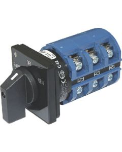 Blue Sea Systems 65A Switch, 2 Positions + OFF, 3-Pole