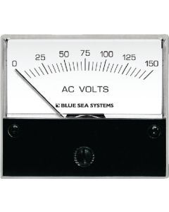 "Blue Sea Systems AC Analog Voltmeter 0-150 Volts, 2-3/4"" Face"