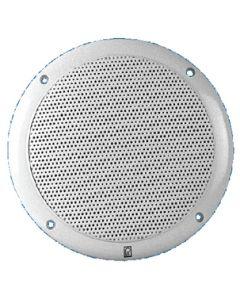 "PolyPlanar Poly-Planar MA4600 6"" Round Marine Speakers (White)"