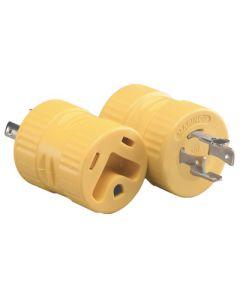 Rv Gen.Adt.20A Locking 4 Prong - 20A Locking Rv Generator Adapter