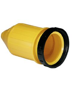 Marinco 7715CRN Weatherproof Cover With Threaded Sealing Ring For Use With 6360CRN or 6364CRN 50A Female Connectors