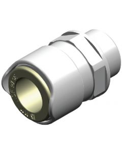 Whale Water Systems Straight Adaptor - Male 1/2in