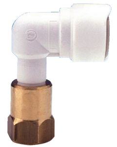 Whale Water Systems Brass 1/2in Female To 15mm