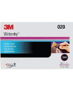3M Imperial Wetordry Paper Sheets 213q Pkg/50