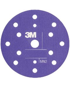"3M 6"" Flexible Abrasive Hookit Dust Free Disc, P800, 25/Pk"