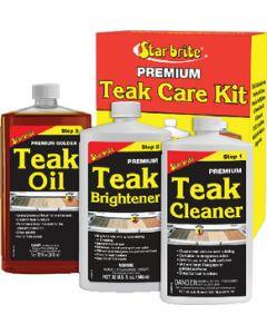 Starbrite Quart Size Teak Care Kit, 3 32oz - Star Brite