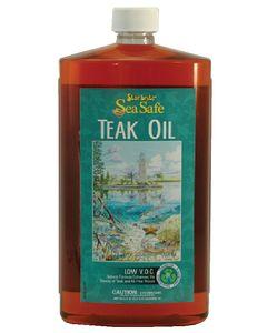 Starbrite Sea Safe Teak Oil, 32 oz. - Star Brite