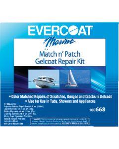 Evercoat Match N Patch Gelcoat Repair Kit